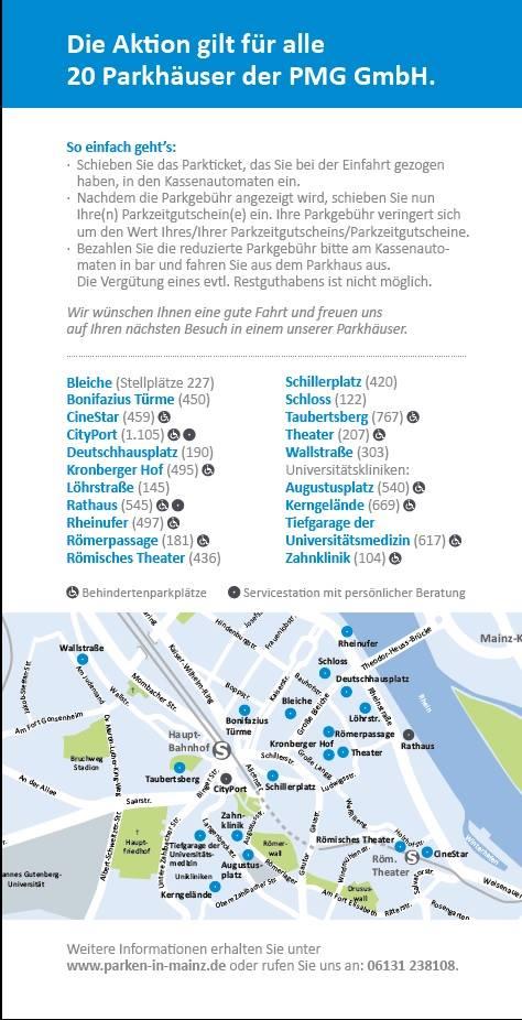 Gratis Parken Mainz