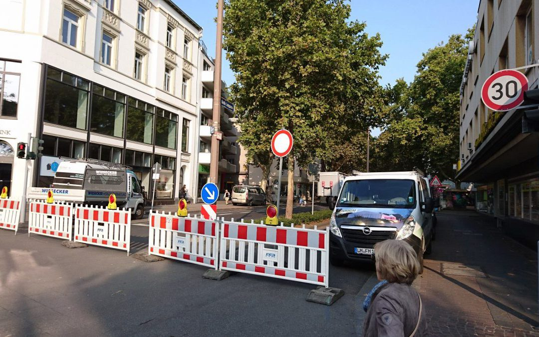Presse: Nachwirkungen des Einheitsfests in Mainz spürbar: Abbau geht voran, Händler mit Umsatzverlust