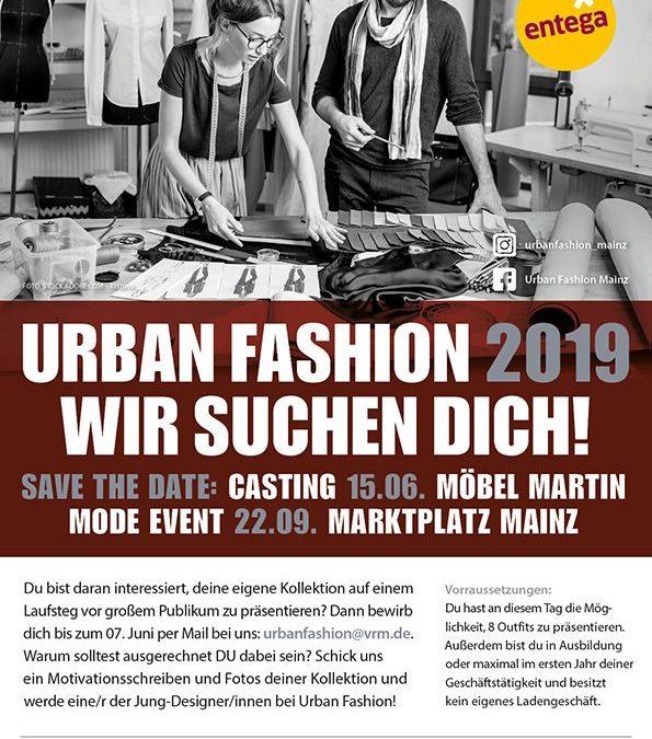 Urban Fashion 2019: Jung-Designer/innen gesucht