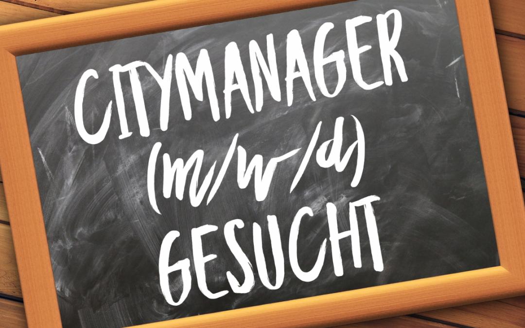 Stellenangebot: Citymanager (m/w/d)